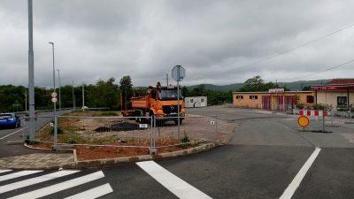 Počeli pripremni radovi za izgradnju parkirališta kod NK Halubjan