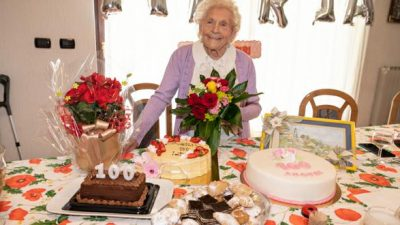U OKU KAMERE Sretan 100-ti rođendan gospođi Mariji Rumac Moretti!