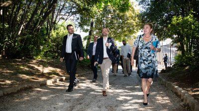 Ministar vanjskih poslova Češke Republike posjetio Opatiju i Hrvatski muzej turizma.