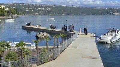 """Pst snima se!!!! Park Angiolina i lučica Dražica današnje su kulise britanske serije """"Hotel Portofino"""""""