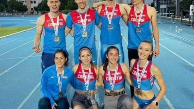 Nicole Milić iz Atletskog kluba Kvarner ruši rekorde i osvaja medalje