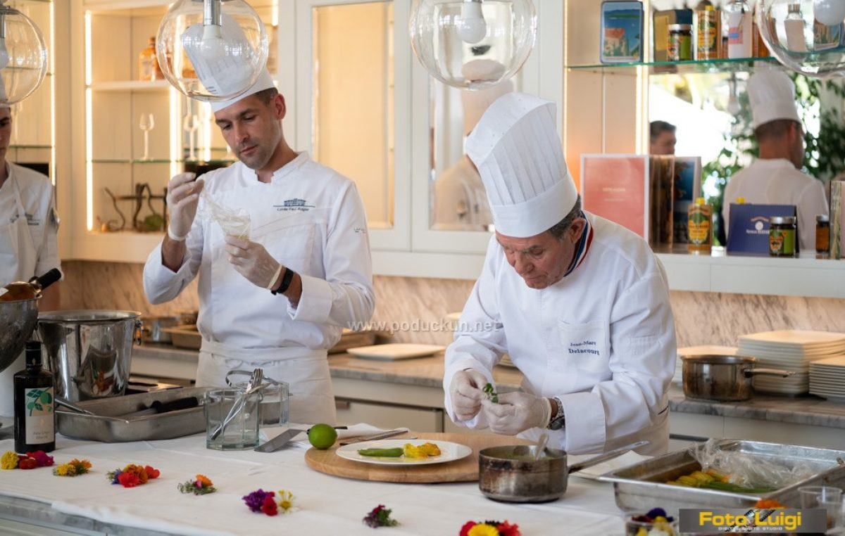 Poznati francuski chef Jean-Marc Delacourt održao masterclass u Opatiji