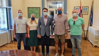 Vaterpolisti na primanju kod gradonačelnika Kirigina; Perica Bukić: Hrvatska vaterpolska reprezentacija jako voli boraviti u Opatiji