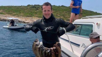 Bruno Žic osvojio treće mjesto na pojedinačnom natjecanju RH u podvodnom ribolovu