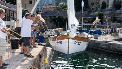 Napravljeni potpuni premjeri tradicijskih barki te porinuti novoobnovljeni pasara i guc