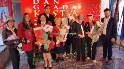 [FOTO/VIDEO] Održana svečanost povodom Dana Kastva – Miri Bujan i Josipu Vrliću uručene nagrade grada