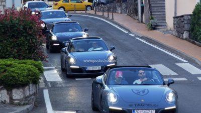 Pink Wing karavana skupocjenih automobila oduševila publiku u Opatiji