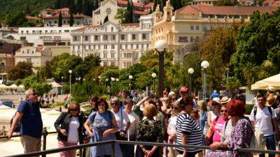 Odlični trendovi turističkog prometa: u kolovozu ostvareno 93 posto rezultata iz 2019