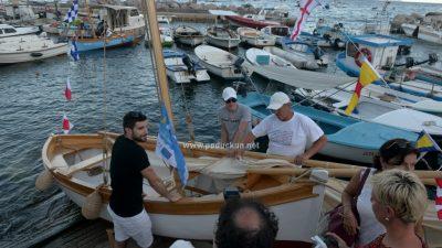 Svečanim porinućem kvarnerskog guca i pasare otvorena 12. smotra i regata tradicijskih barki @ Mošćenička Draga
