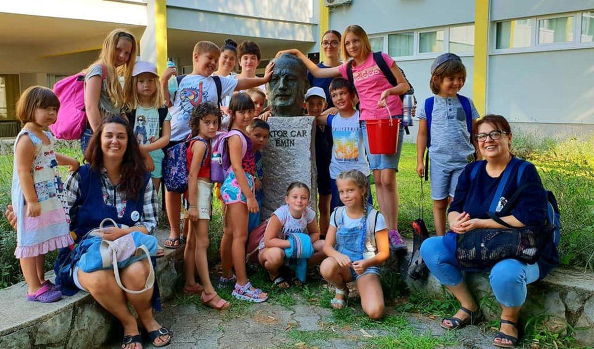 Polaznici ljetnih aktivnosti DND-a tragali za znamenitostima i pričama Lovrana