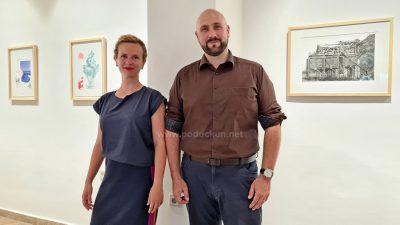 [VIDEO] Izložba 'Snovi i sjećanja' – Samoborski umjetnici Ana Sladetić i Miran Šabić predstavili se lovranskoj publici