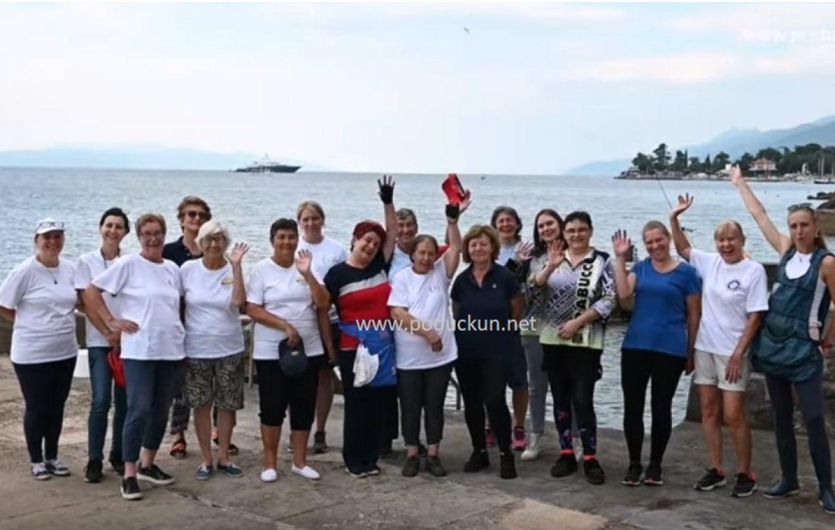 [VIDEO] Povodom Dana Grada Opatije održan ženski kup seniorki u ribolovu štapom s obale