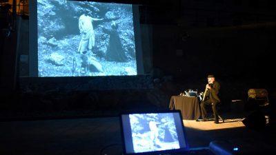 [VIDEO/FOTO] Projekcija filma L'inferno di Dante uz nastup saksofoniste Marca Castellija, večeras se otvara izložba Brune Paladina