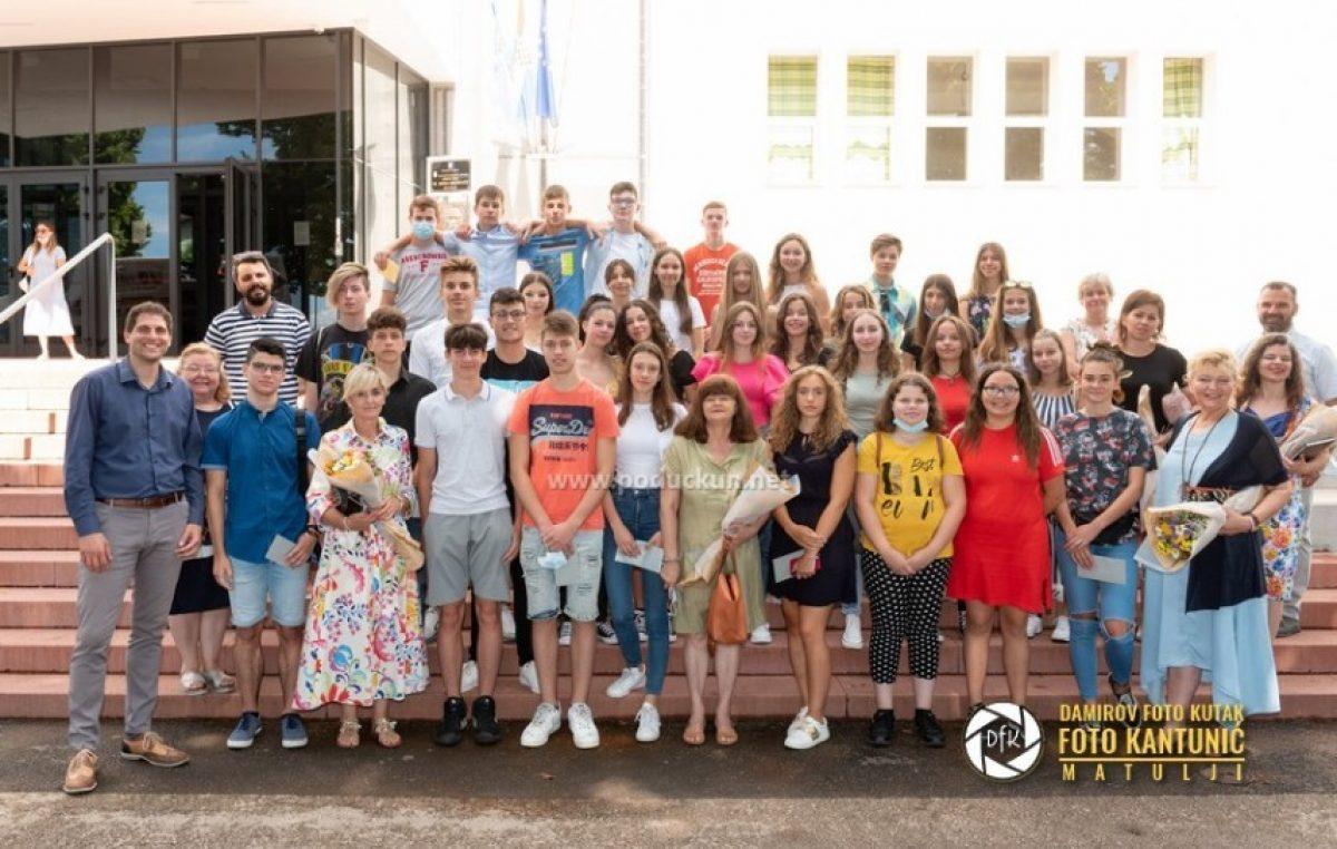[FOTO] Održano primanje za najuspješnije učenike matuljskih osnovnih škola