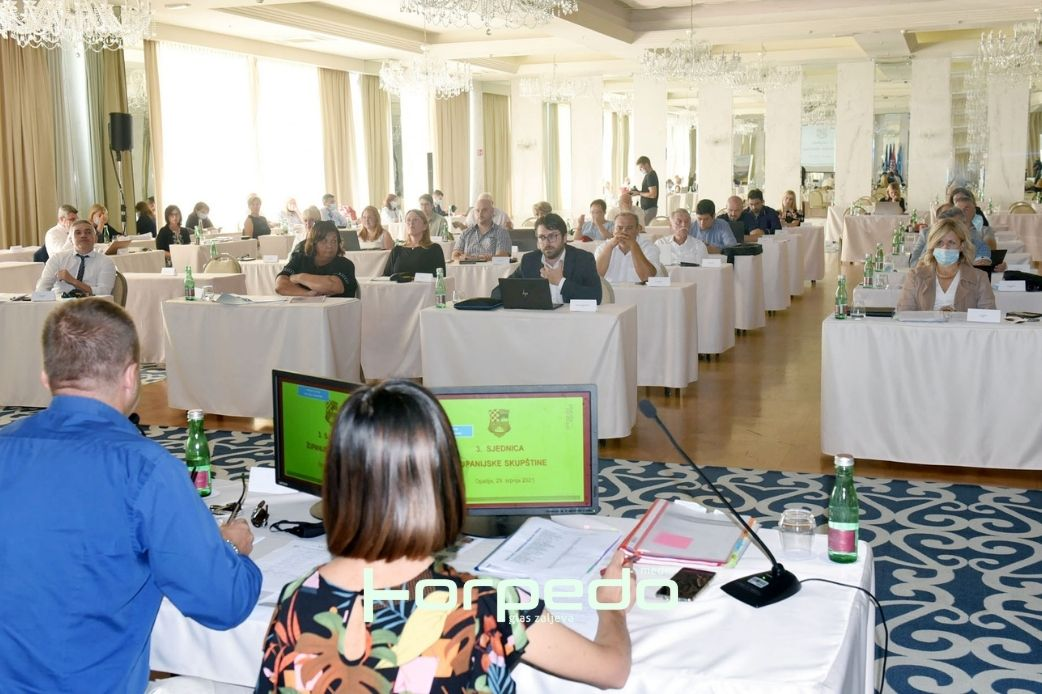 Županijska skupština podržala rebalans Proračuna