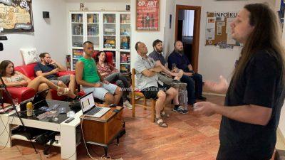 [FOTO] 'Koliko vrijedi ljudski život?' – Opatija Coffeehouse Debates donijela sjajno predavanje dr.sc. Ivana Cerovca