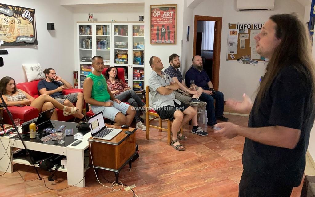 foto koliko vrijedi ljudski zivot opatija coffeehouse debates donijela sjajno predavanje dr sc ivana cerovca