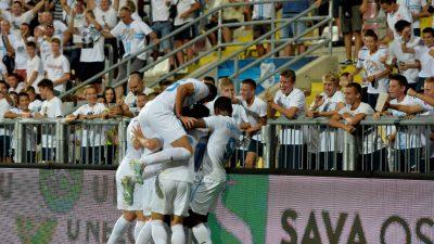 [FOTO/VIDEO] Rijeka – Hibernian 4:1, bijeli osigurali playoff Konferencijske lige!