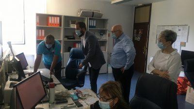 Zamjenik župana Braut posjetio Zavod za hitnu medicinu PGŽ