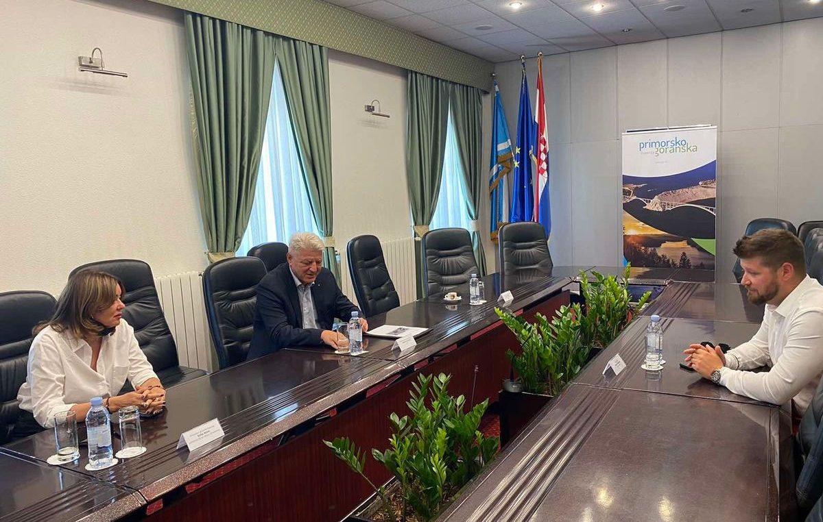 Župan Komadina i gradonačelnik Mostarac razgovarali o izgradnji nove područne škole u Rešetarima