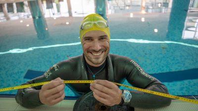 Vitomir Maričić zaronom na 100 metara dubine osvaja 3. mjesto i novi nacionalni rekord