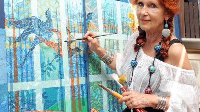 Predstavljanje monografije YASNA likovne umjetnice Jasne Skorup Krneta