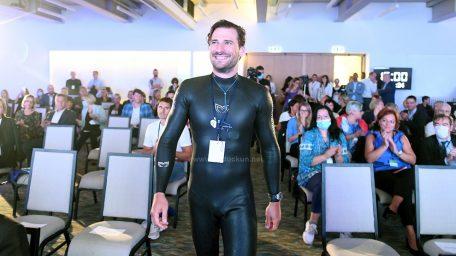 [VIDEO] Vitomir Maričić u bazenu opatijske Thalassotherapije oborio Guinnessov rekord hoda pod vodom