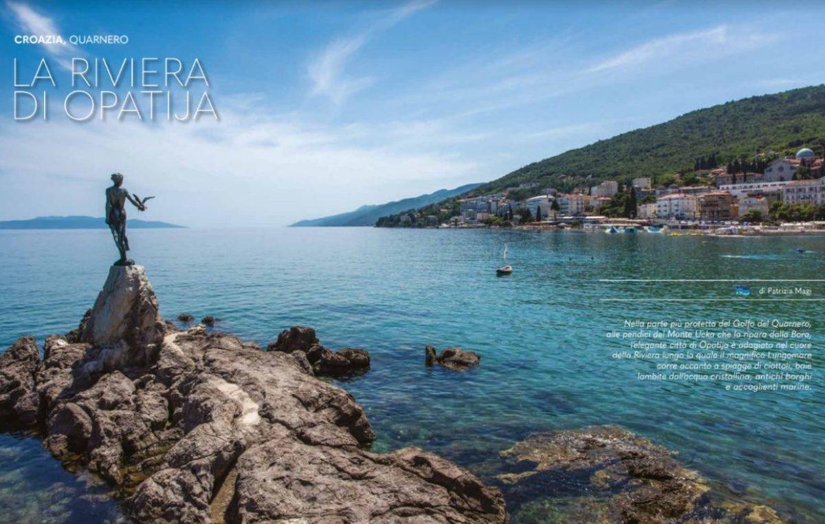 Opatija predstavljena na osam stranica u magazinu Nautica, najutjecajnijem talijanskom nautičkom magazinu