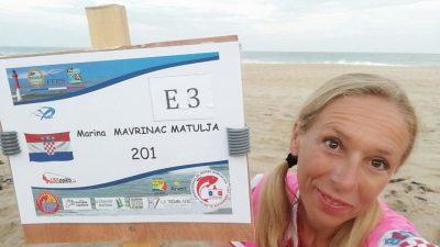 [VIDEO] Marina Mavrinac Matulja postala je prvakinja svijeta u sportskom ribolovu – surf casting