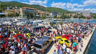 [VIDEO/FOTO] Najskuplji automobili na svijetu stigli u Opatiju