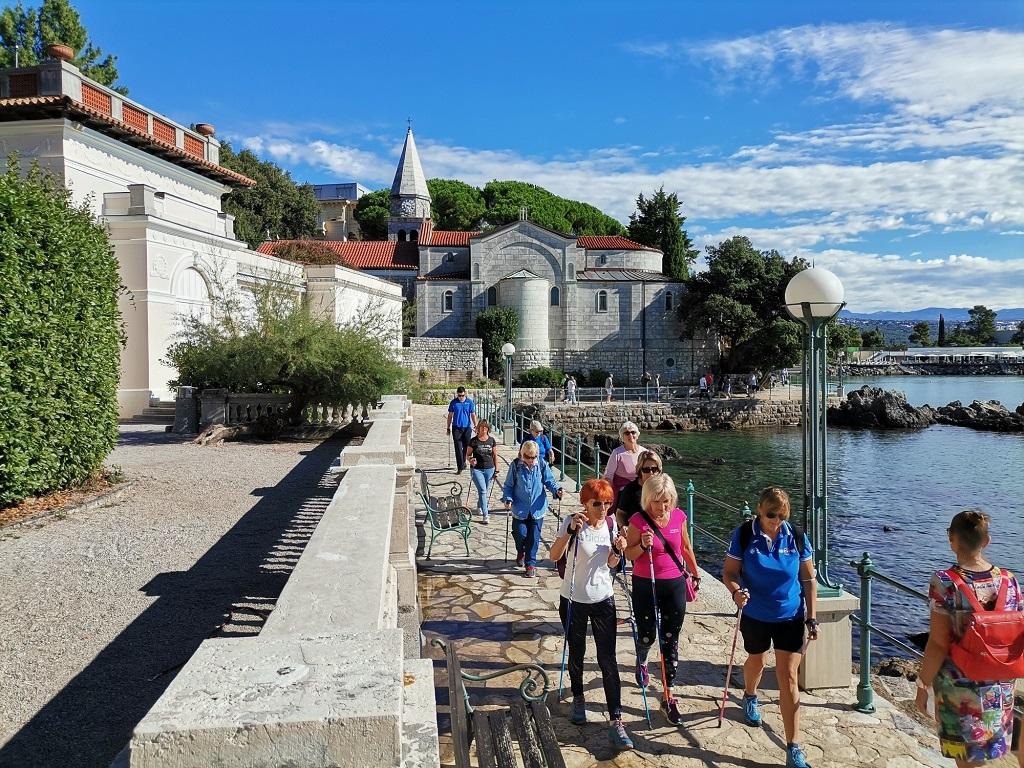 Aktivna šetnja ove subote: Opatija – Preluk – Opatija