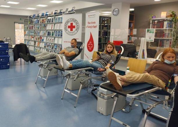 [FOTO] U Lovranu i Iki održane akcije dobrovoljnog darivanja krvi