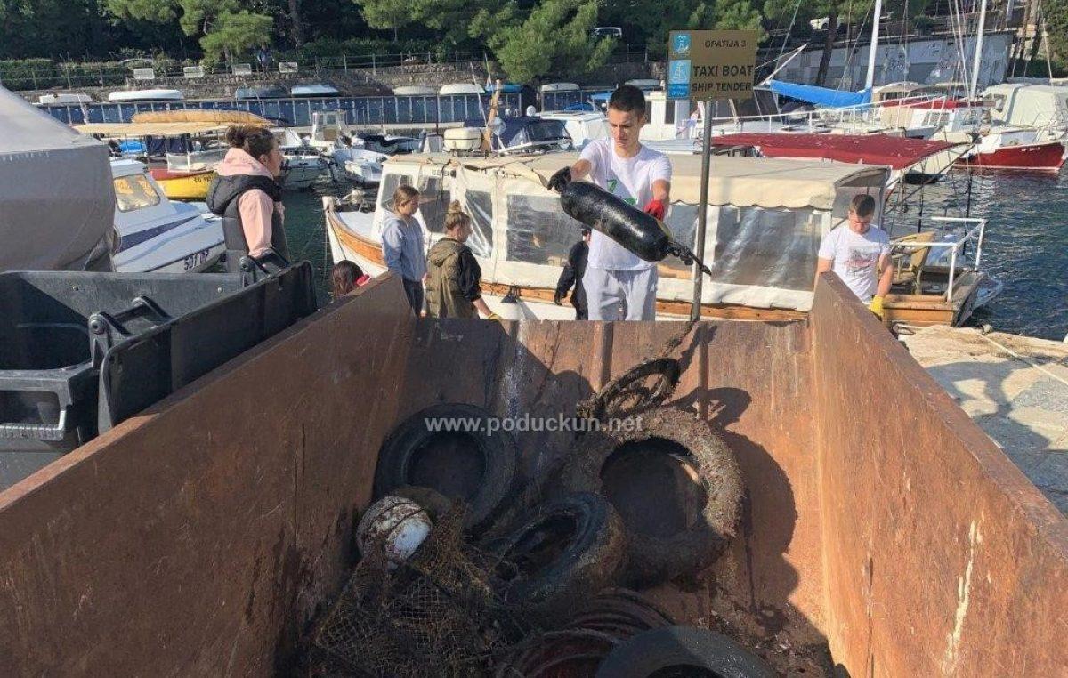 [FOTO/VIDEO] Održana akcija čišćenja podmorja opatijske luke