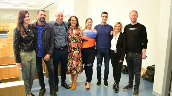 [FOTO/VIDEO] Chefovi Srdoč, Skoko i Sinožić održali panel raspravu za učenike Ugostiteljske škole Opatija