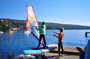 """Štićenici Dječjeg doma """"Ivana Brlić Mažuranić"""" upoznali se s tajnama windsurfinga @ Volosko"""