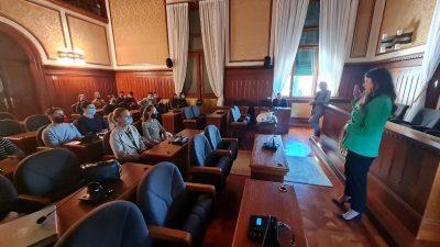Održano predavanje za studente Pravnog fakulteta u sklopu projekta Klinika za javno pravo